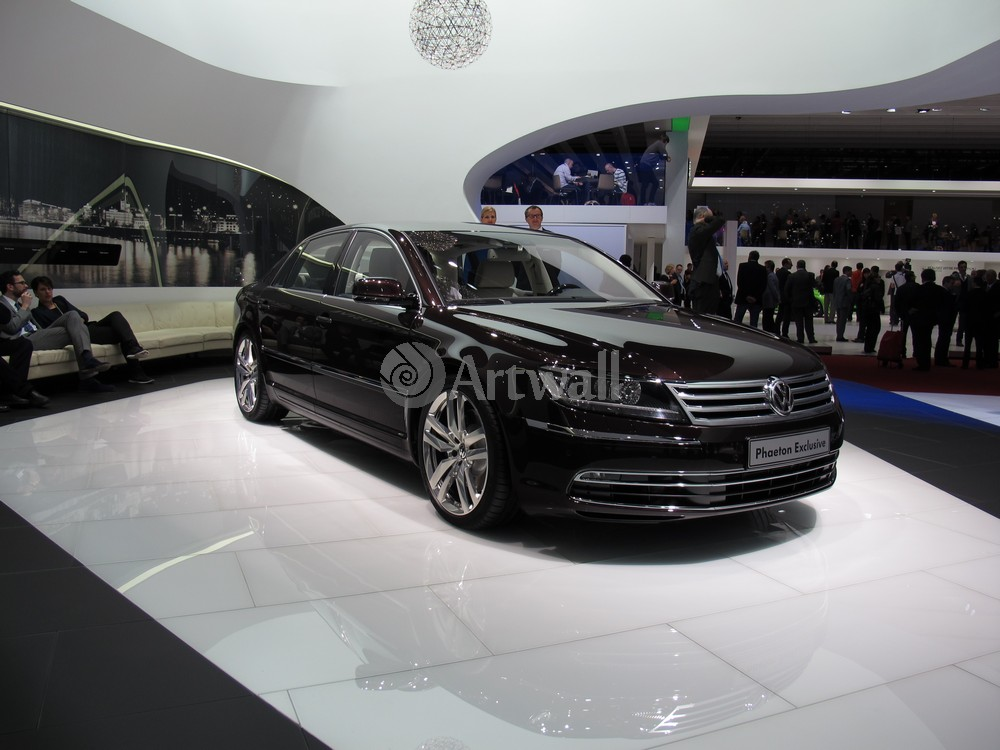 "Постер ""Volkswagen Phaeton"", 27x20 см, на бумаге от Artwall"