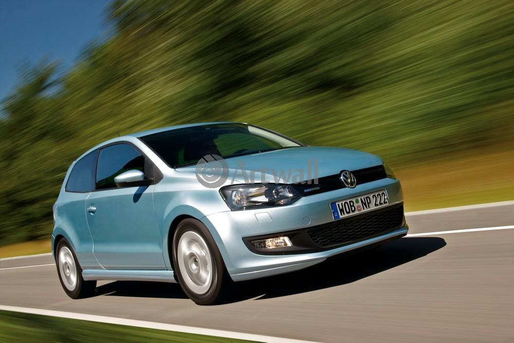 "Постер ""Volkswagen Polo 3D"", 30x20 см, на бумаге от Artwall"
