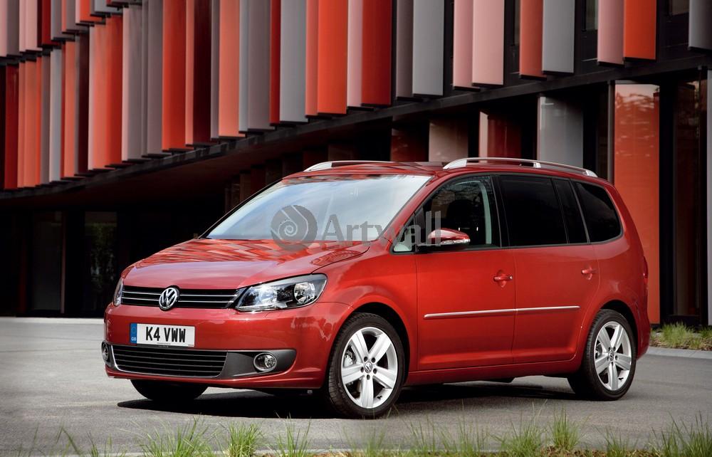 "Постер ""Volkswagen Touran"", 31x20 см, на бумаге от Artwall"