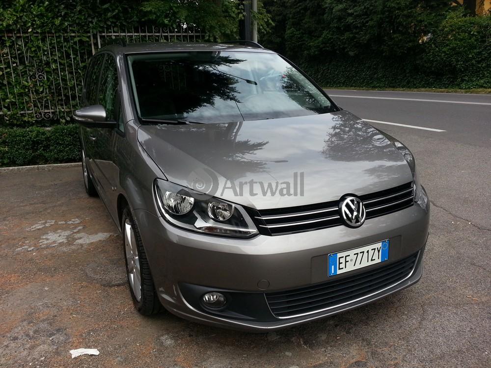 "Постер ""Volkswagen Touran"", 27x20 см, на бумаге от Artwall"