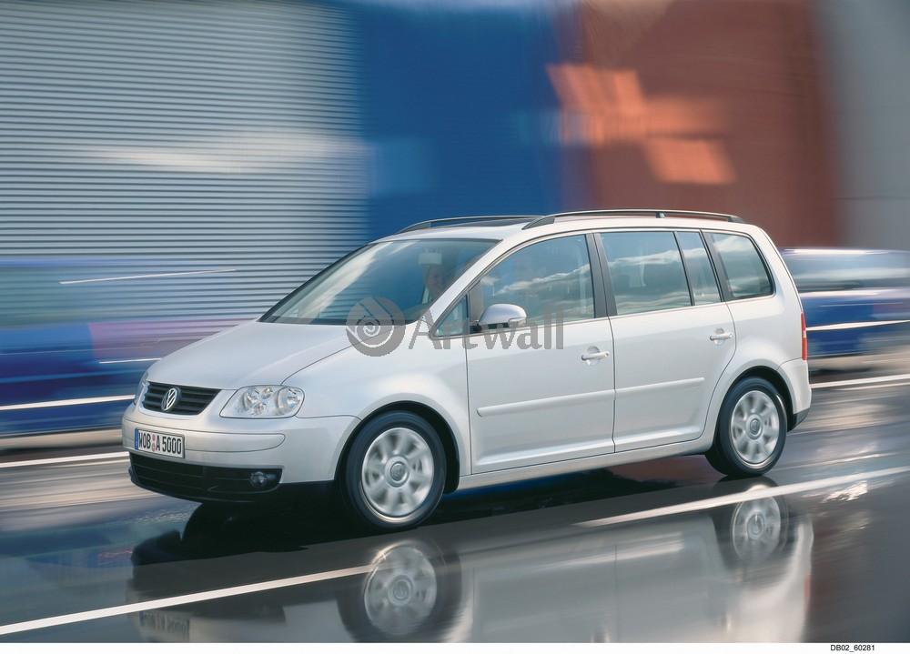 "Постер ""Volkswagen Touran"", 28x20 см, на бумаге от Artwall"