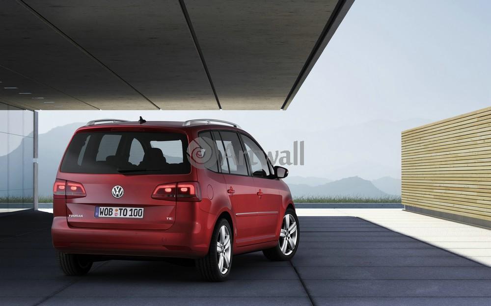 "Постер ""Volkswagen Touran"", 32x20 см, на бумаге от Artwall"