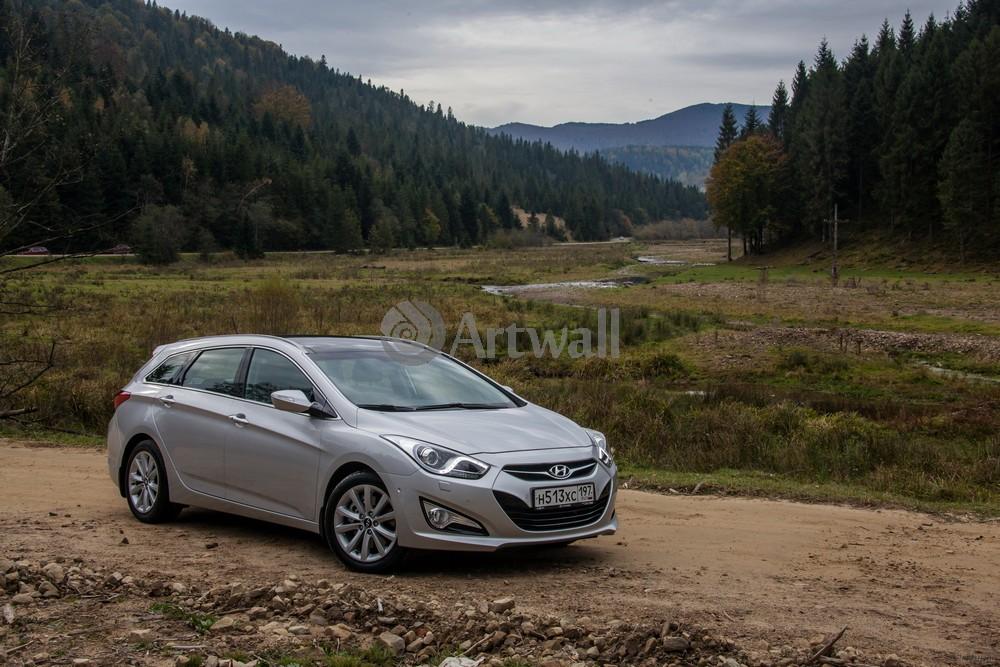 "Постер ""Hyundai i40 Wagon"", 30x20 см, на бумаге от Artwall"