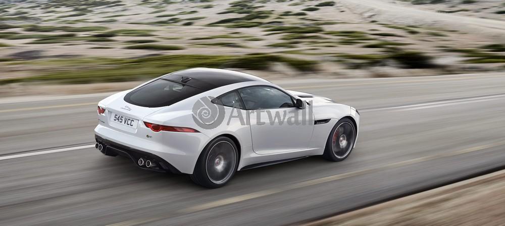 "Постер ""Jaguar F-Type Coupe"", 45x20 см, на бумаге от Artwall"