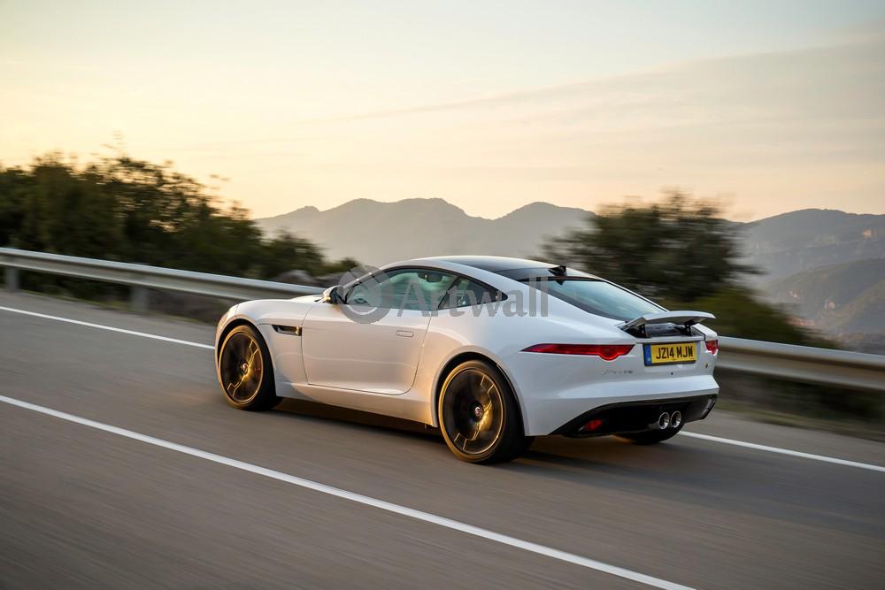 "Постер ""Jaguar F-Type Coupe"", 30x20 см, на бумаге от Artwall"