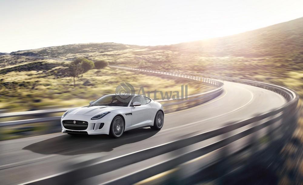 "Постер ""Jaguar F-Type Coupe"", 33x20 см, на бумаге от Artwall"