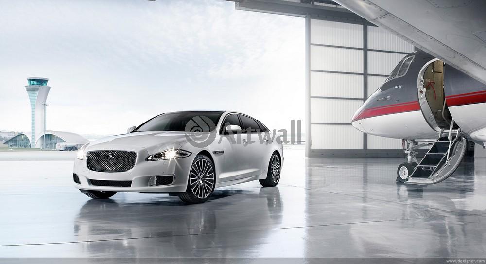 "Постер ""Jaguar XJ"", 37x20 см, на бумаге от Artwall"