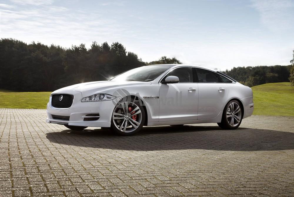 "Постер ""Jaguar XJ"", 30x20 см, на бумаге от Artwall"