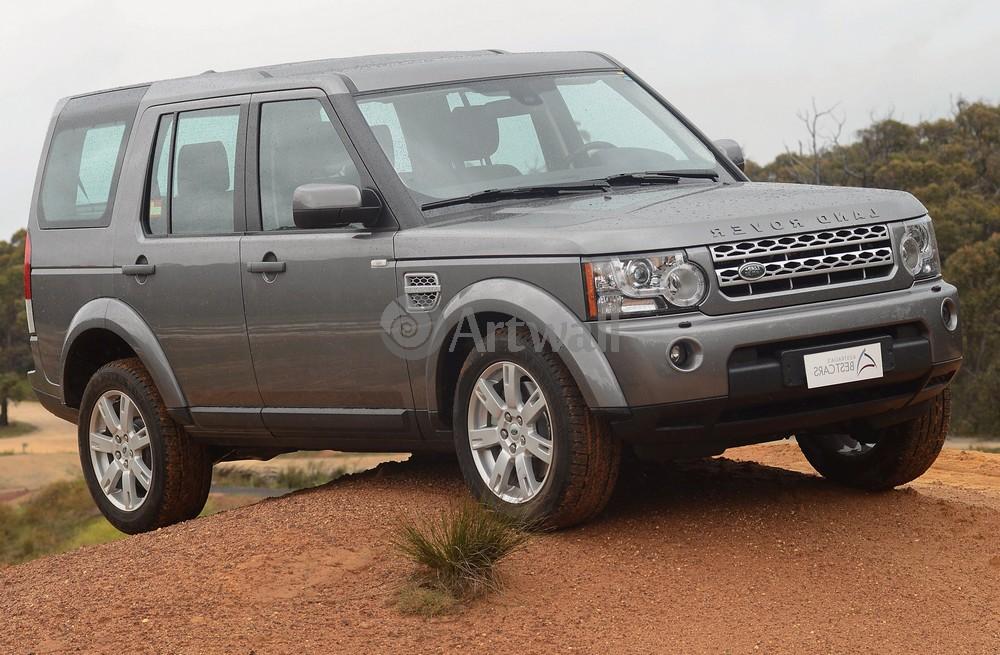 """Постер """"Land Rover Discovery 4"""", 31x20 см, на бумаге от Artwall"""
