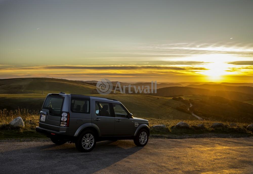 """Постер """"Land Rover Discovery 4"""", 29x20 см, на бумаге от Artwall"""
