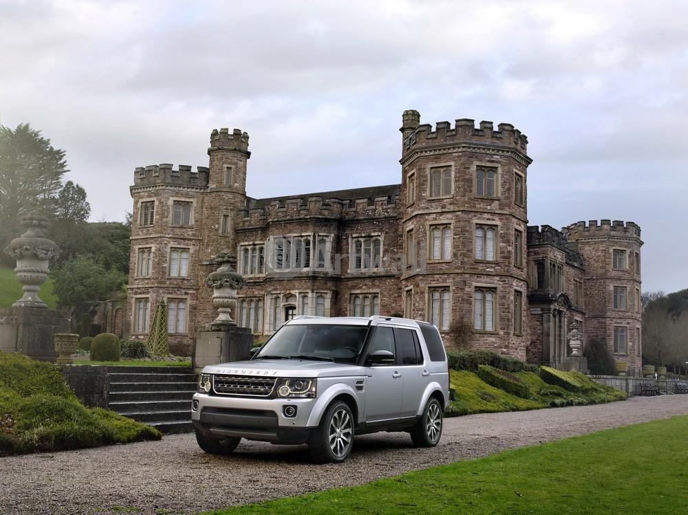 """Постер """"Land Rover Discovery 4"""", 27x20 см, на бумаге от Artwall"""