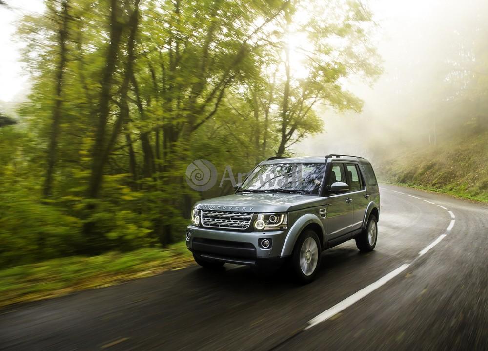"""Постер """"Land Rover Discovery 4"""", 28x20 см, на бумаге от Artwall"""
