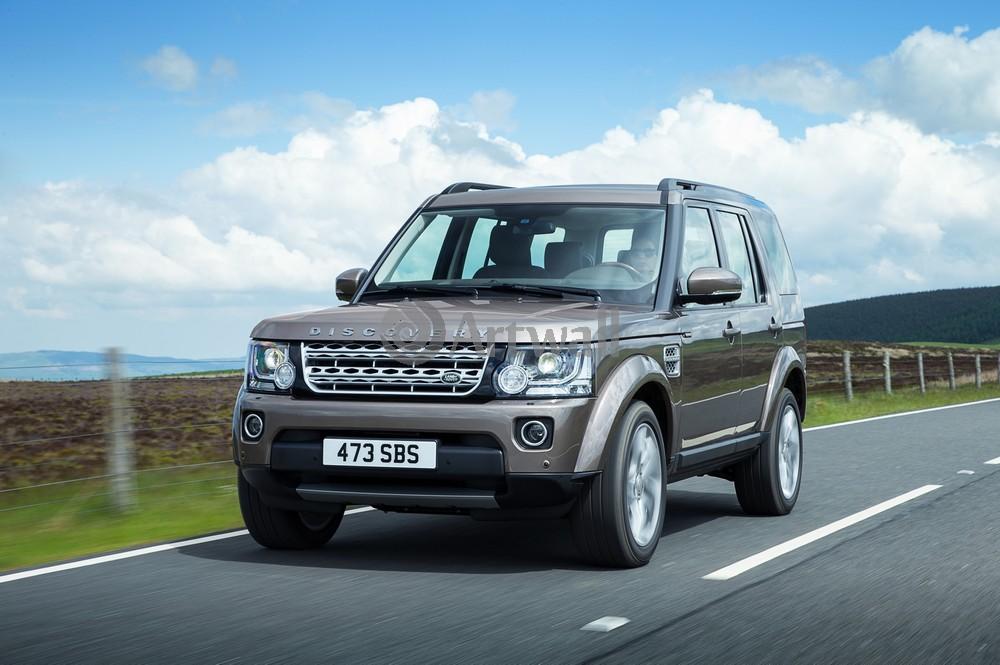 """Постер """"Land Rover Discovery 4"""", 30x20 см, на бумаге от Artwall"""