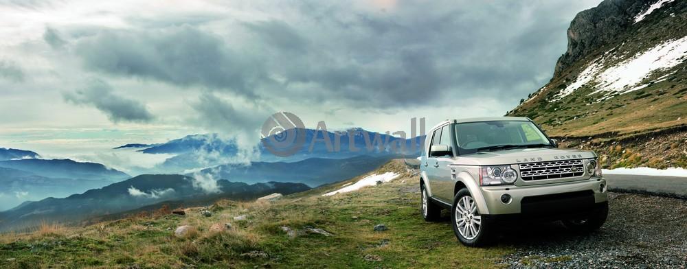 """Постер """"Land Rover Discovery 4"""", 51x20 см, на бумаге от Artwall"""