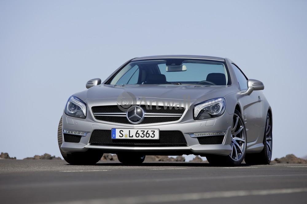 "Постер ""Mercedes-Benz SL 63 AMG"", 30x20 см, на бумаге от Artwall"