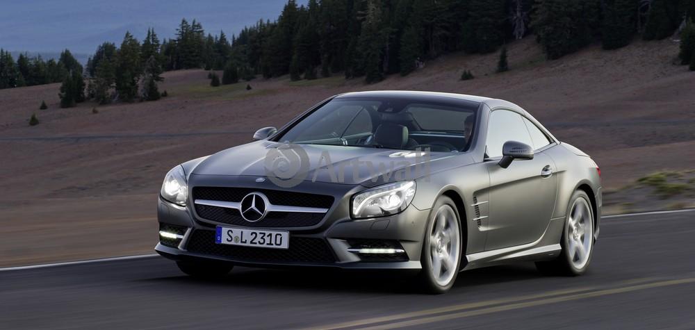 "Постер ""Mercedes-Benz SL 63 AMG"", 42x20 см, на бумаге от Artwall"