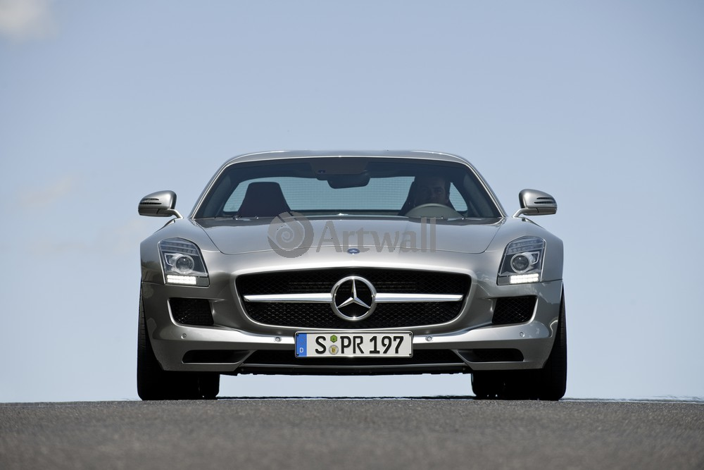 "Постер ""Mercedes-Benz SLS AMG"", 30x20 см, на бумаге от Artwall"