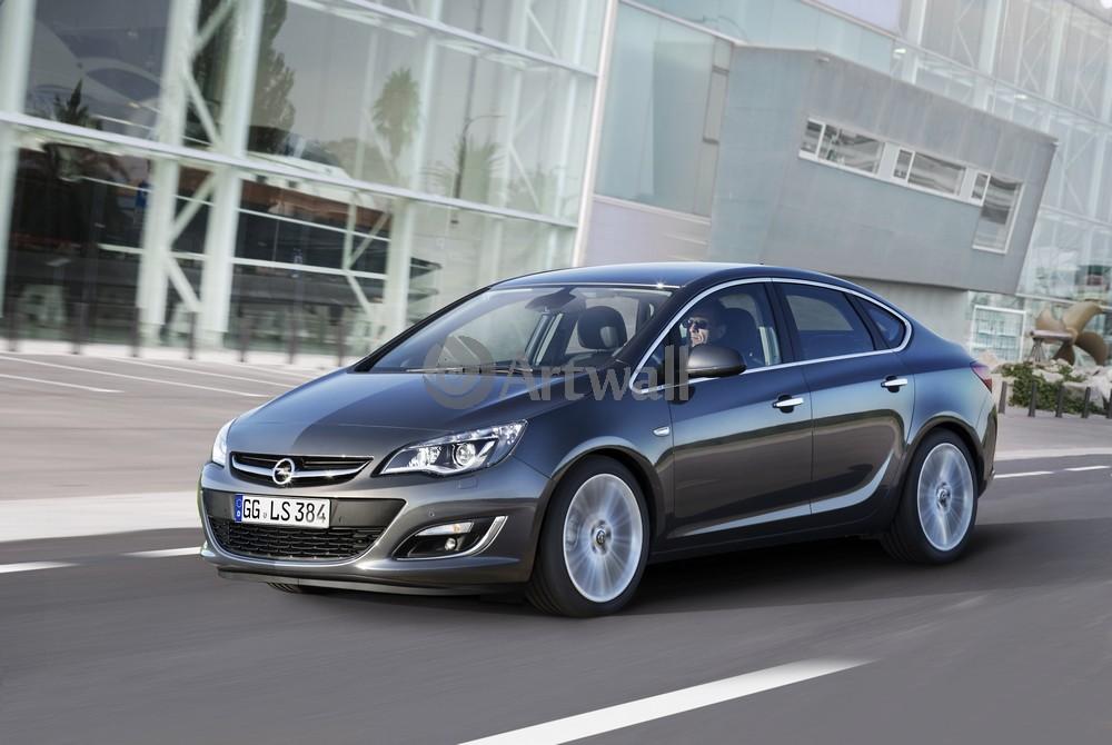"Постер ""Opel Astra Sedan"", 30x20 см, на бумаге от Artwall"