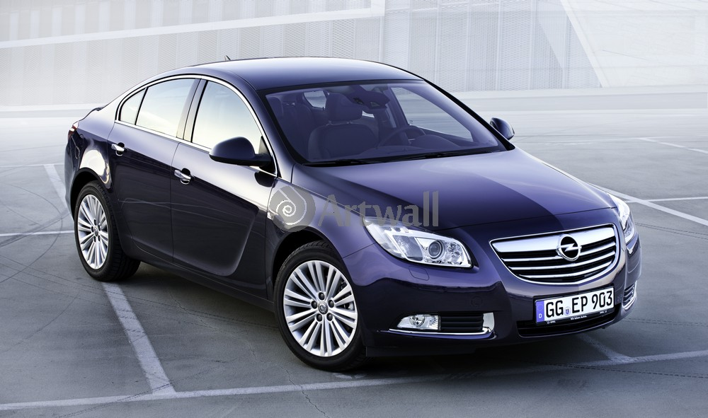 "Постер ""Opel Insignia Sedan"", 34x20 см, на бумаге от Artwall"