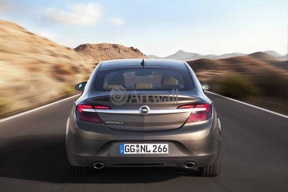 "Постер ""Opel Insignia Sedan"", 30x20 см, на бумаге от Artwall"