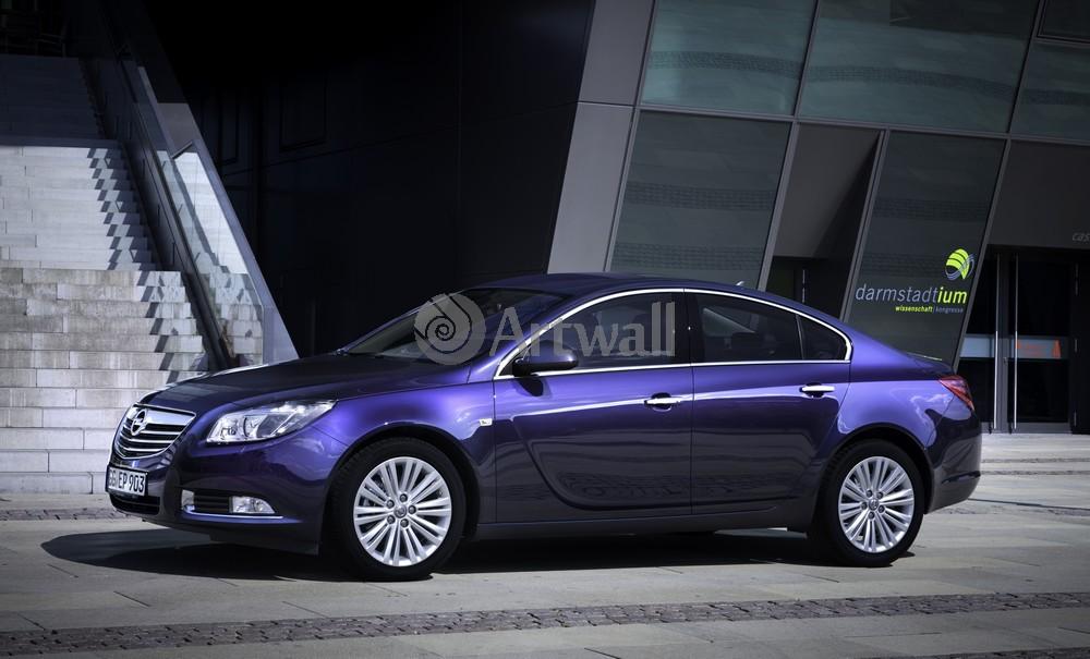 "Постер ""Opel Insignia Sedan"", 33x20 см, на бумаге от Artwall"