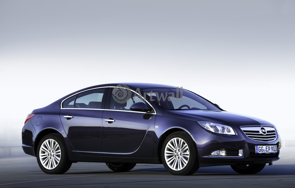 "Постер ""Opel Insignia Sedan"", 31x20 см, на бумаге от Artwall"