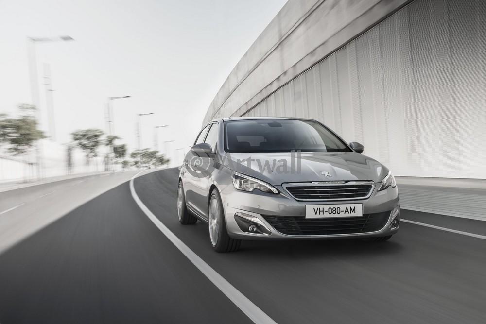 """Постер """"Peugeot 308"""", 30x20 см, на бумаге от Artwall"""
