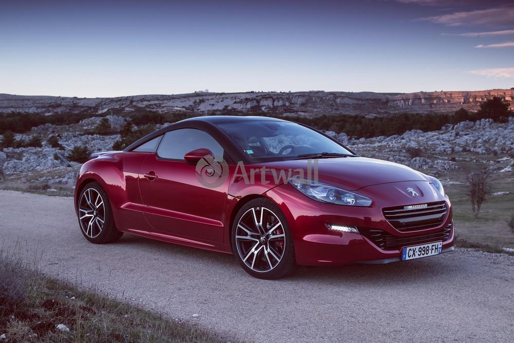"""Постер """"Peugeot RCZ"""", 30x20 см, на бумаге от Artwall"""