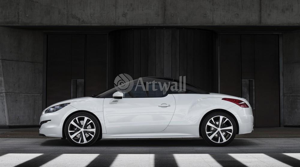 """Постер """"Peugeot RCZ"""", 36x20 см, на бумаге от Artwall"""