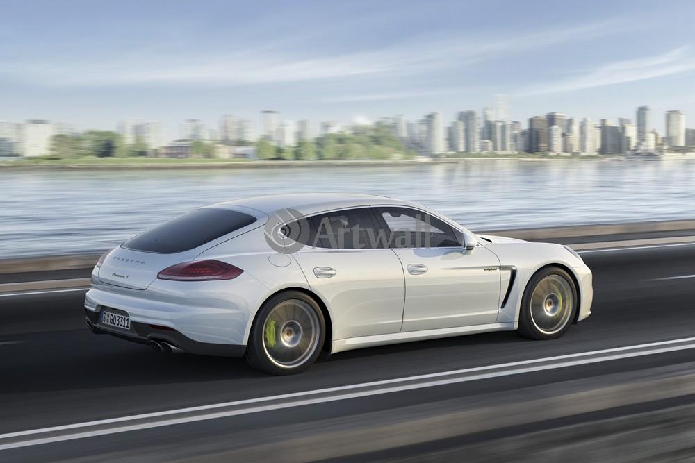 "Постер ""Porsche Panamera"", 30x20 см, на бумаге от Artwall"