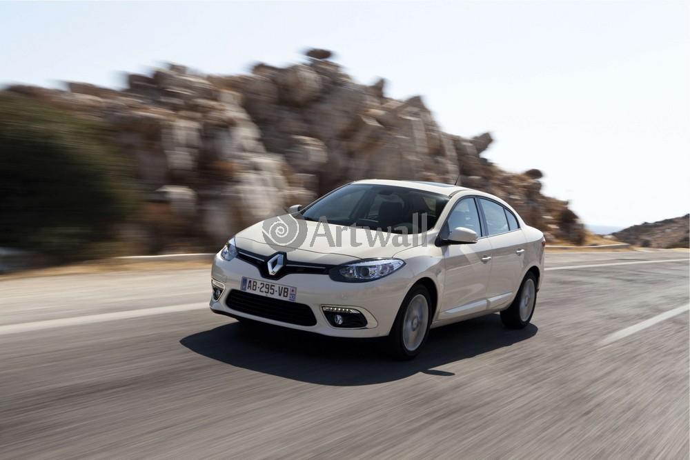"""Постер """"Renault Fluence"""", 30x20 см, на бумаге от Artwall"""