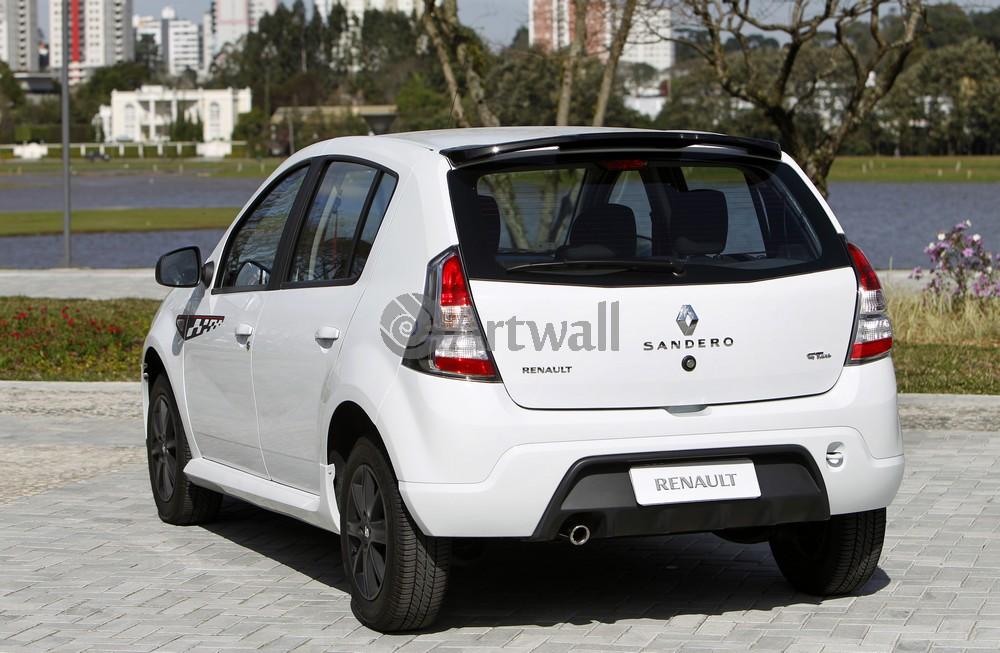 """Постер """"Renault Sandero"""", 31x20 см, на бумаге от Artwall"""