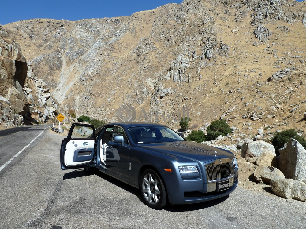 "Постер ""Rolls-Royce Ghost"", 27x20 см, на бумаге от Artwall"