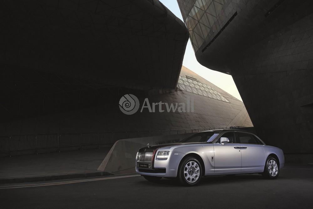"Постер ""Rolls-Royce Ghost"", 30x20 см, на бумаге от Artwall"