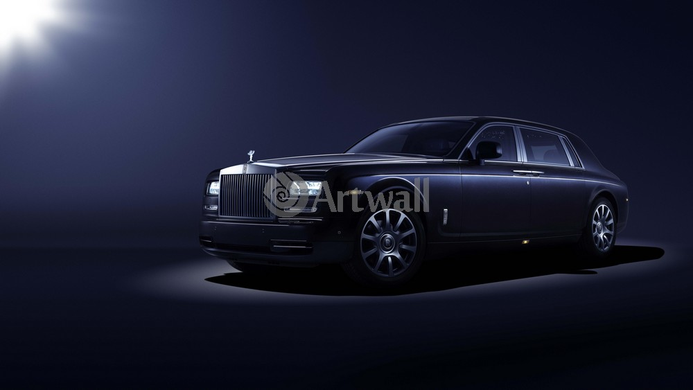 "Постер ""Rolls-Royce Phantom"", 36x20 см, на бумаге от Artwall"