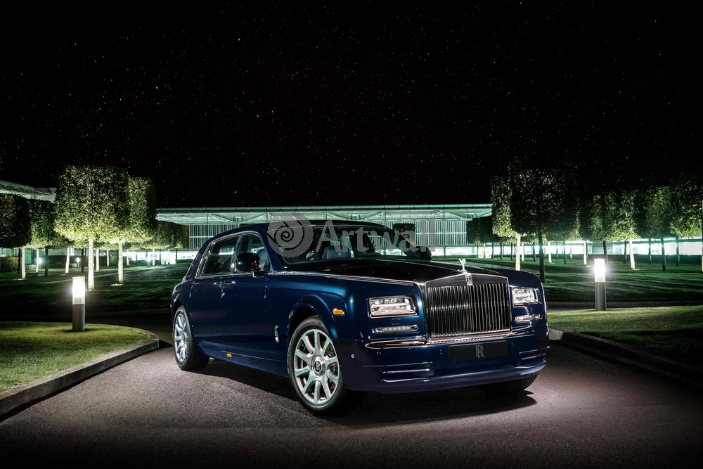 "Постер ""Rolls-Royce Phantom"", 30x20 см, на бумаге от Artwall"