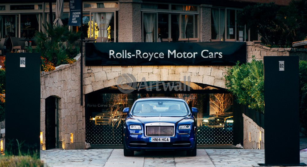 "Постер ""Rolls-Royce Phantom"", 37x20 см, на бумаге от Artwall"