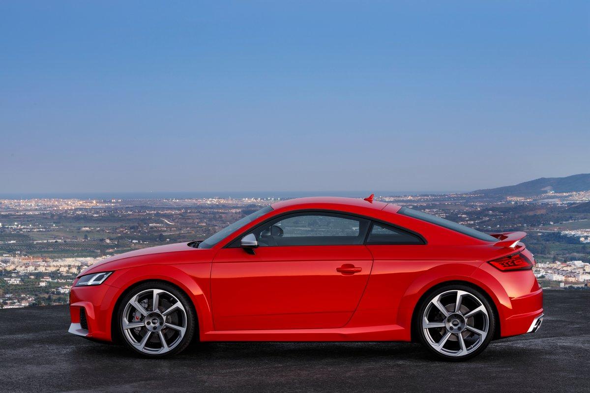 """Постер """"Audi TT купе III (2014)"""", 30x20 см, на бумаге от Artwall"""