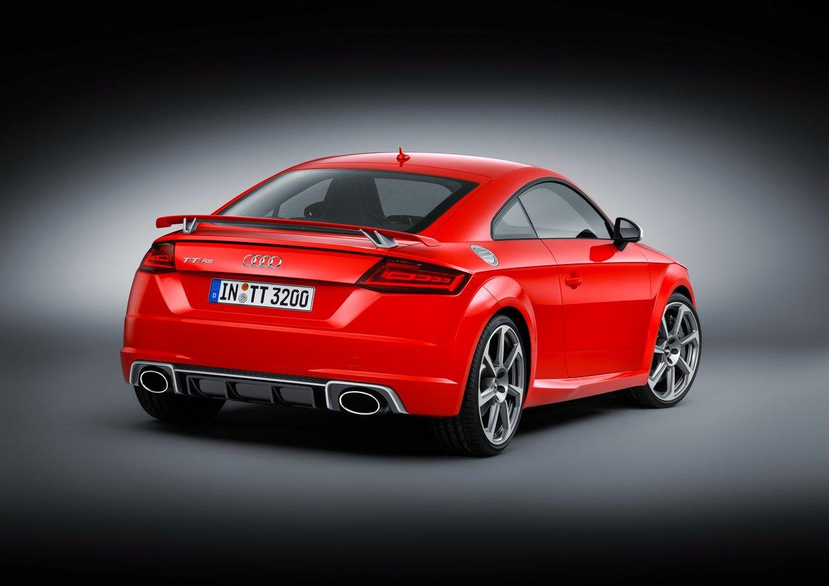 """Постер """"Audi TT купе III (2014)"""", 28x20 см, на бумаге от Artwall"""