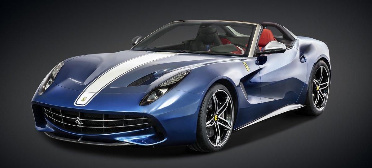 """Постер """"Ferrari F60America (2015)"""", 44x20 см, на бумаге от Artwall"""