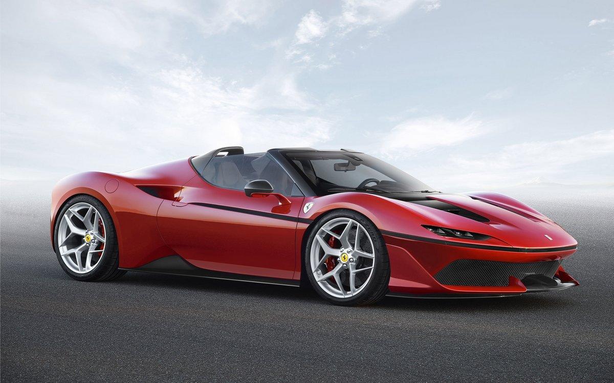 """Постер """"Ferrari F60America (2015)"""", 32x20 см, на бумаге от Artwall"""