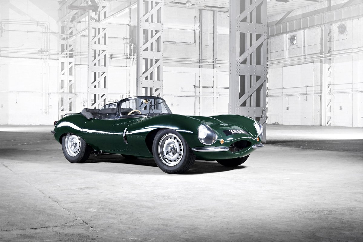 "Постер ""Jaguar XKSS 57 (2017)"", 30x20 см, на бумаге от Artwall"