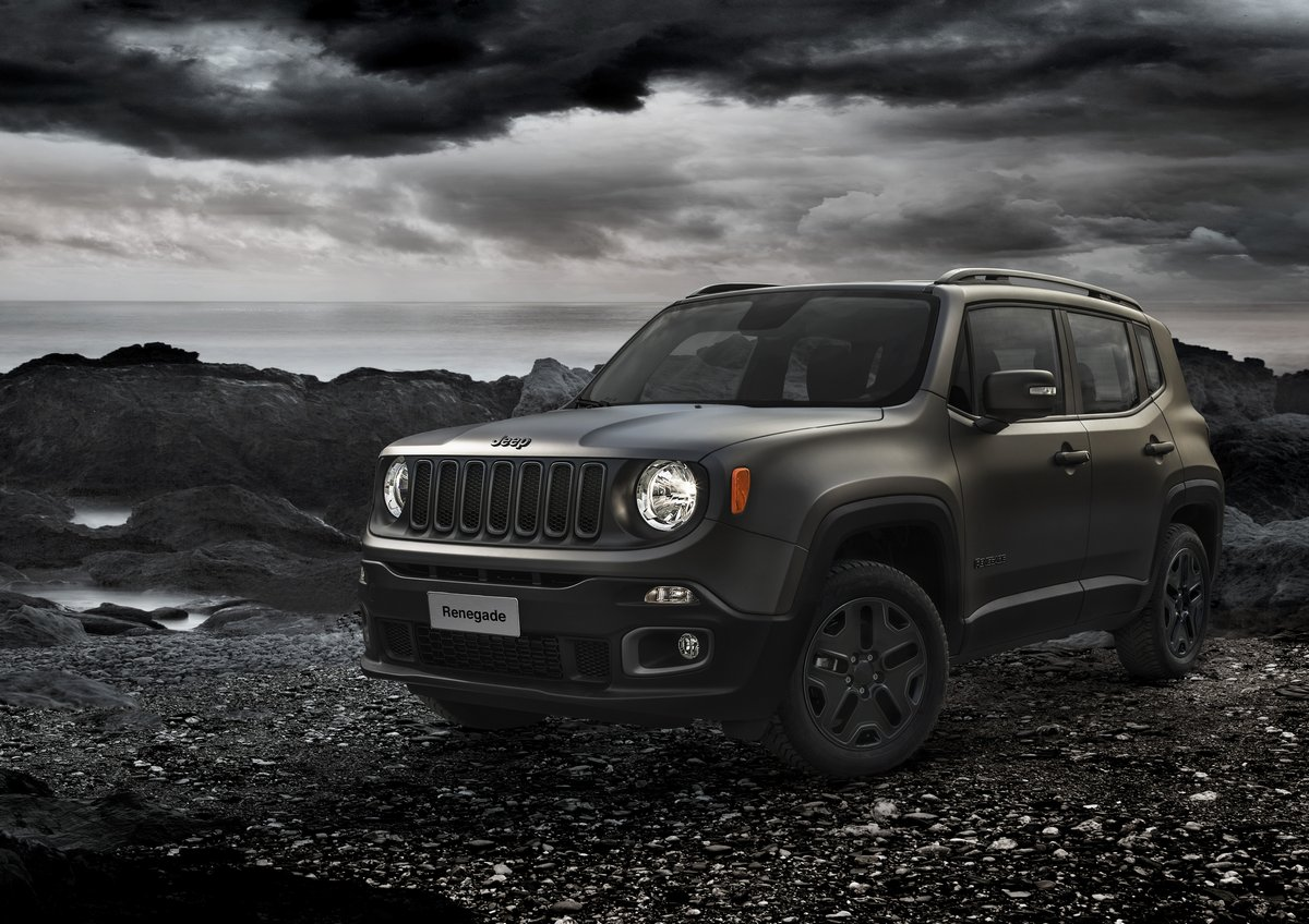 "Постер ""Jeep Renegade (2015)"", 28x20 см, на бумаге от Artwall"