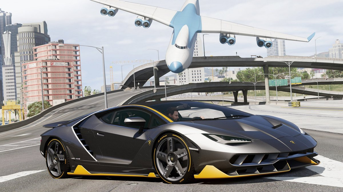 "Постер ""Lamborghini Centenario (2015)"", 36x20 см, на бумаге от Artwall"