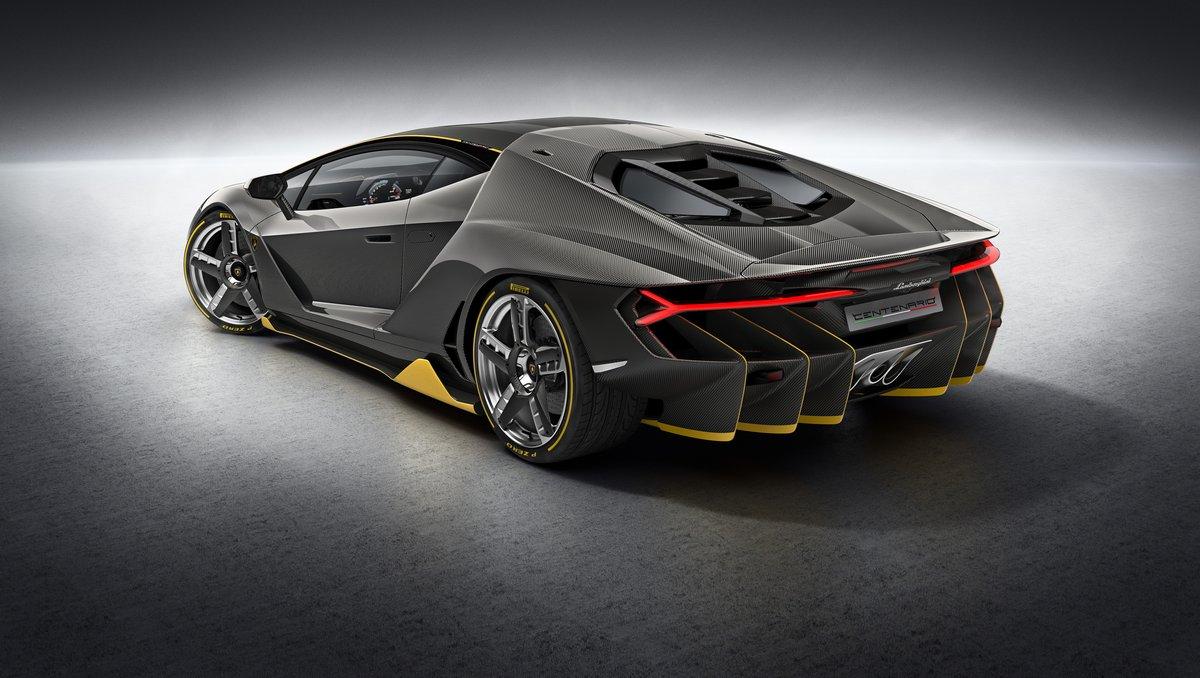 "Постер ""Lamborghini Centenario (2015)"", 35x20 см, на бумаге от Artwall"
