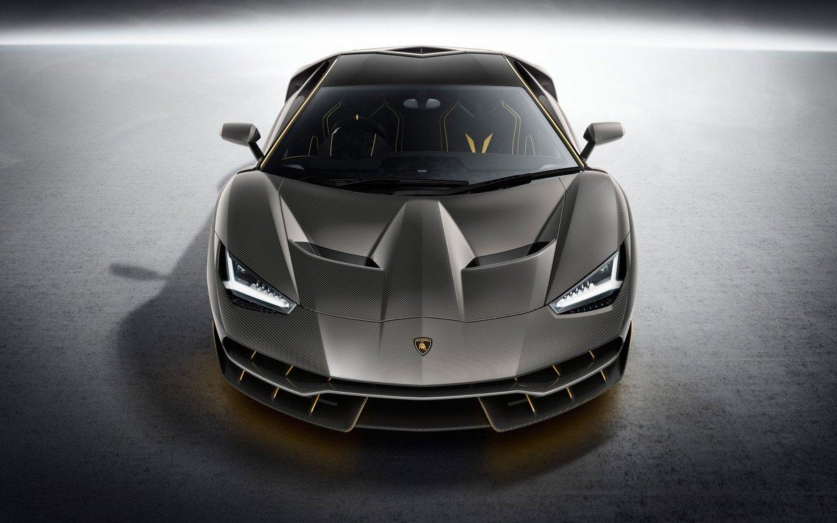 "Постер ""Lamborghini Centenario (2015)"", 32x20 см, на бумаге от Artwall"