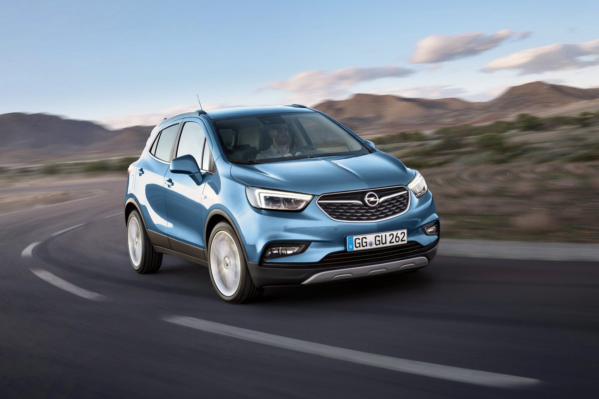 """Постер """"Opel Mokka (2017)"""", 30x20 см, на бумаге от Artwall"""