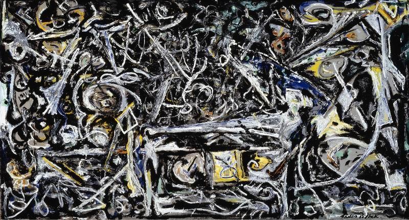 """Художники, картина """"Ночной туман"""", 37x20 см, на бумаге от Artwall"""