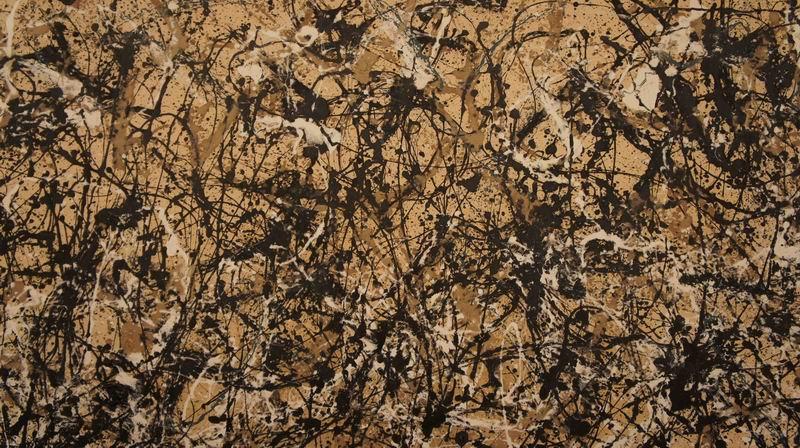"""Художники, картина """"Ритм осени №30. Фрагмент"""", 36x20 см, на бумаге от Artwall"""