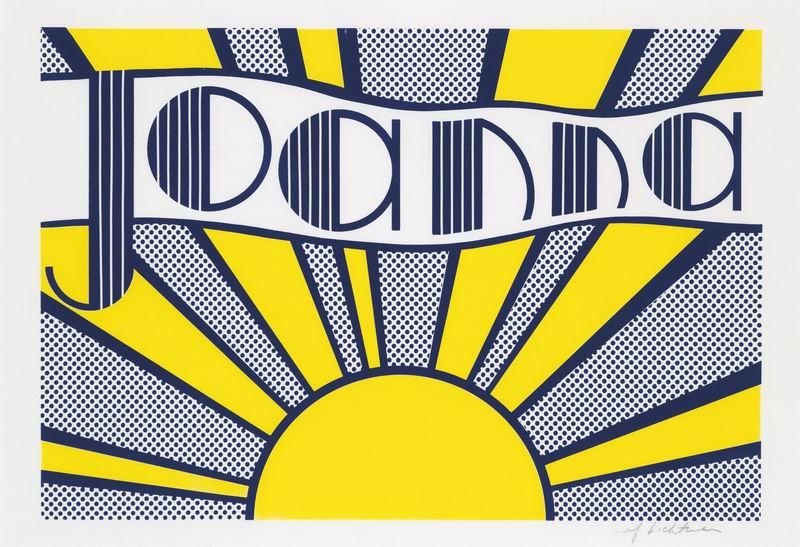 """Художники, картина """"Джоанна"""", 29x20 см, на бумаге от Artwall"""